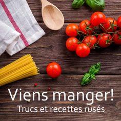 «Viens manger!», livre gratuit en ligne : trucs et 85 recettes avec vidéos pour les étudiants (Université de Montréal) Vegetables, Kitchen, Food, Free Books Online, Eat, Stuff Stuff, Recipes, Cooking, Veggies