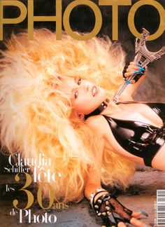 This is the biggest hair I could find on Pinterest. I still want bigger... Am I cray? 80s Big Hair - Claudia Schiffer