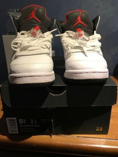 067840e05102 Nike Air Jordan 5 Retro BG Size 5  fashion  clothing  shoes  accessories