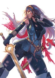 """""""I will honor your memory, father"""" Lucina is dope. Her design and character is awesome! What's your favorite character in Fire Emblem Awakening?"""