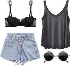 just a pretty lace bra and i'll be rocking this outfit #coachella