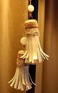 Paper Tassels