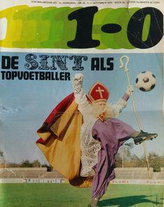 Voetbalweekblad 1970, Sinterklaas aan de bal in het oude HFC Haarlem stadion