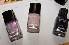 Chanel Fall 2014 Nail Polish - Atmosphere, Secret, Orage