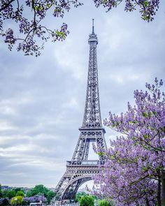 La Tour Eiffel Paris by dmevansphoto