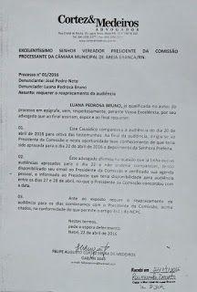 RN POLITICA EM DIA: AREIA BRANCA: PREFEITA LUANA BRUNO MAIS UMA VEZ AD...