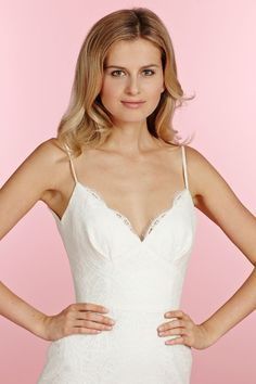 Style 1503 Ren Blush by Hayley Paige bridal gown - Ivory lace sheath bridal  gown 51d37354aab4