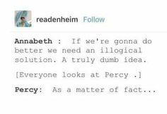Percy's got u Covered