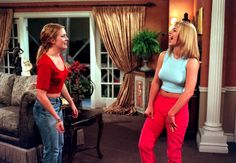 Britney on Sabrina, The Teenage Witch in 1999.