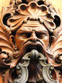 Door Knocker in Florence