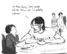 Sirius and Harry (part Harry Potter Comics, Harry Potter Artwork, Harry Potter Marauders, Harry James Potter, Harry Potter Jokes, Harry Potter Universal, Harry Potter Fandom, Harry Potter World, The Marauders