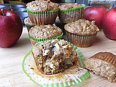 #Stevia Sweetened #Apple #Oatmeal Muffins: 112 calories!