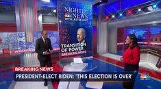 Story Outline, Broken Broken, Nbc Nightly News, New President, Seesaw, Color Changing Led, Nbc News, On Set, Graphics