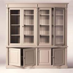 China Cabinet, Taupe, Storage, Furniture, Home Decor, Honey, Master Bathroom Vanity, Purse Storage, Homemade Home Decor