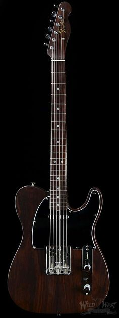 Fender Rosewood Telecaster NOS - Jason Smith Masterbuilt - Wild West Guitars