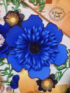 Giant Paper Flower Paper Flower Backdrop Wedding от APaperEvent