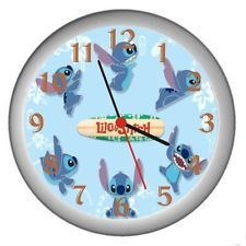 New Lilo Stitch Wall Decor Clock