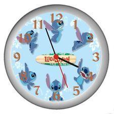 New Lilo Stitch Wall Decor Clock
