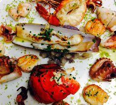 Delicious fall menu update from Felidia - Grigliata di Pesce.