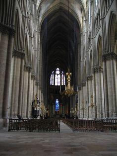 Reims Cathedral, interior (1) - Cathédrale Notre-Dame de Reims — Wikipédia