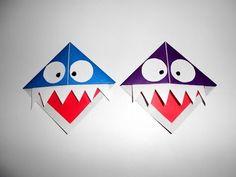 Закладки для книг своими руками Оригами из бумаги