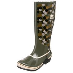 Sorel Womens Sorellington Graphic NL1621 Rain BootPeatmossNatural7 M US -- Find out more about the great product at the image link.(This is an Amazon affiliate link and I receive a commission for the sales)