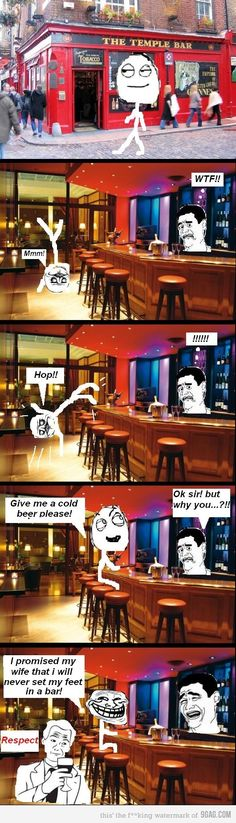 Rage Comics :) The Temple Bar
