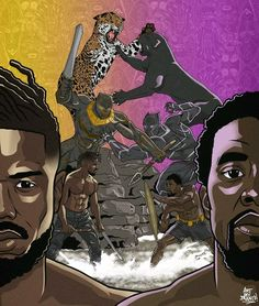 This is Black Panther Fan Art (@riotwithblanco)