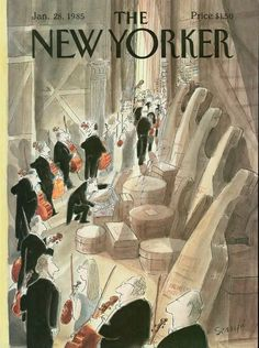 Jean-Jacques Sempé | The New Yorker Covers 1985