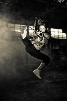 So keep calm and be the hip hop dancer.