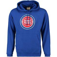 Majestic Detroit Pistons NBA Armor 3 Mens Pullover Hooded Sweatshirt