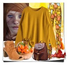 """""""Zaful-Ginger Color"""" by elza-345 ❤ liked on Polyvore featuring Miu Miu, Bella Vita, yourbeautiful, loveisallyouneed, dontworrybehappy, Autumncolors and gingerparty"""