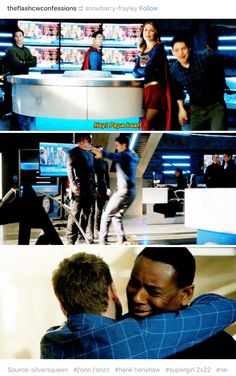 Winn is my son and he must be protected at all costs << Ha it's funny because his real poppa was abusive and killed people :) The Cw Shows, Dc Tv Shows, Supergirl Superman, Supergirl And Flash, Nerd Girl Problems, Superhero Shows, Cw Dc, Cw Series, Dc Legends Of Tomorrow