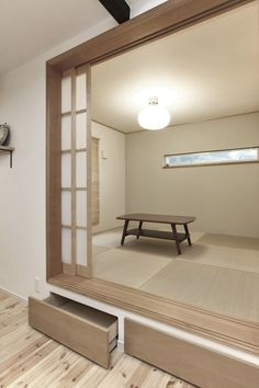 和室/畳スペース/小上がり/インテリア/注文住宅/施工例/ジャストの家/japanese room/interior/house/homedecor/housedesign Tea Room Decor, House Design, Interior Design, House Interior, Japanese Interior Design, Interior Design Living Room, Interior, Asian Interior, Tatami Room