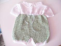 Estante do Croche: macaquinho bebe