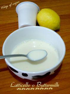 Latticello o buttermilk, ricetta , ricetta con yogurt e limone, ricetta buttermilk, ricetta latticello-