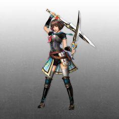 Female Protagonist of Sengoku Musou Chronicle 3