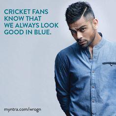 bleeding blue....