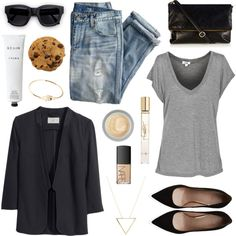 Casual Outfit Ideas For Winter 2019 - style you 7 Cute Casual Outfits, Summer Outfits, Casual Fall, Polyvore Outfits, Fashion Addict, What To Wear, Womens Fashion, Fashion Trends, Fashion Outfits