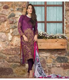 Ayesha Zara Embroidered Lawn Collection AZ_03A