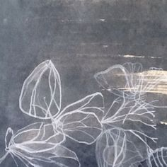 Ink drawing on rice paper