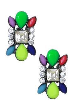 Vibrant Color Urban Earrings on HauteLook
