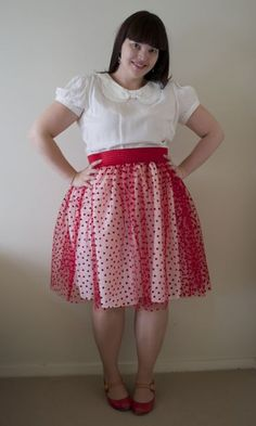 A skirt tutorial from one of my favorite bloggers in case you are so inclined...