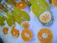 IZZE Clementine flavor featured