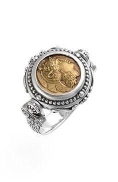 Konstantino 'Athena' Coin Flip Ring available at #Nordstrom