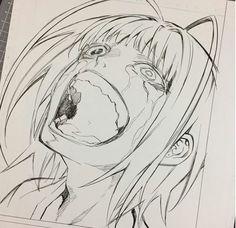 Sousei no Onmyouji Human Body Drawing, Human Anatomy Drawing, Anatomy Art, Manga Drawing, Manga Art, Epic Drawings, Anime Drawings Sketches, Cartoon Drawings, Twin Star Exorcist