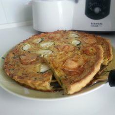 Quiche ligero para #Mycook http://www.mycook.es/receta/quiche-ligero/