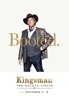 8 Kingsman: The Golden Circle character posters have debuted from Century Fox, who have confirmed the cast for the film will appear at Comic-Con. Streaming Movies, Hd Movies, Movies Online, Movies And Tv Shows, Movie Tv, Hd Streaming, Watch Kingsman, Kingsman Movie, San Diego Comic Con