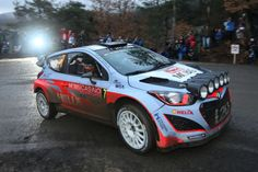 Hyundai i20 WRC rally car