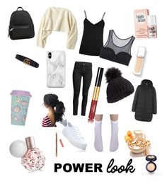 """""""Untitled #7"""" by mashaluba on Polyvore featuring Pusheen, ESCADA, Uniqlo, MANGO, Miss Selfridge, Recover and Gucci"""